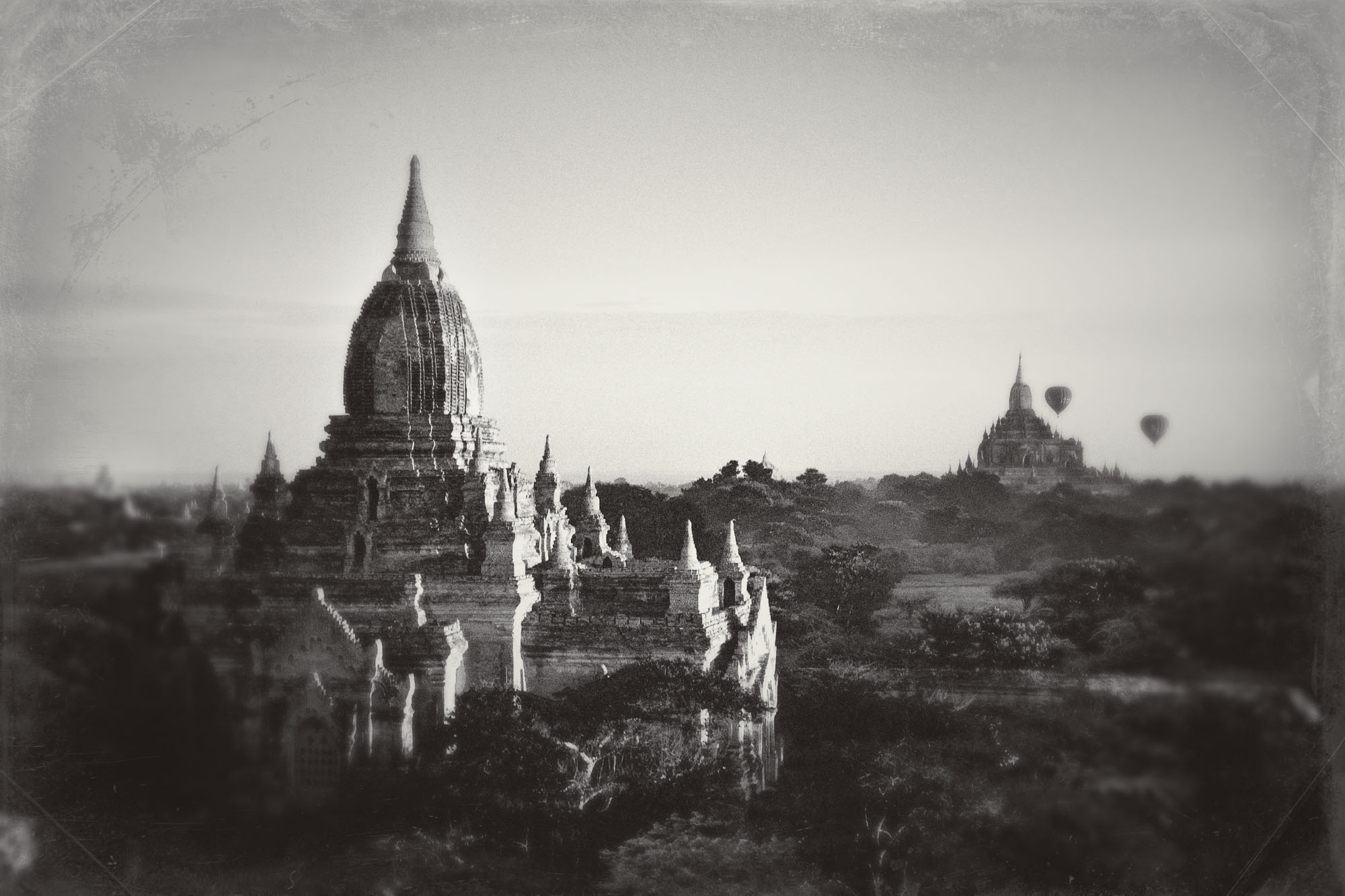 Myanmar, wet plate look