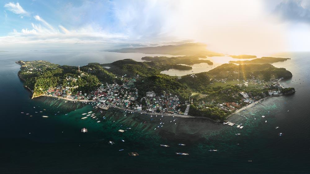 Mindoro-Luftaufnahme