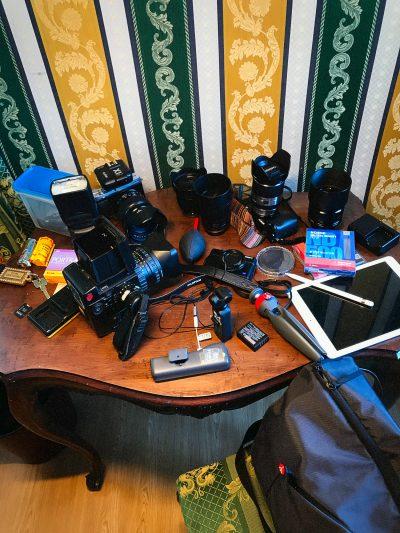 Venedig Equipment Kameras